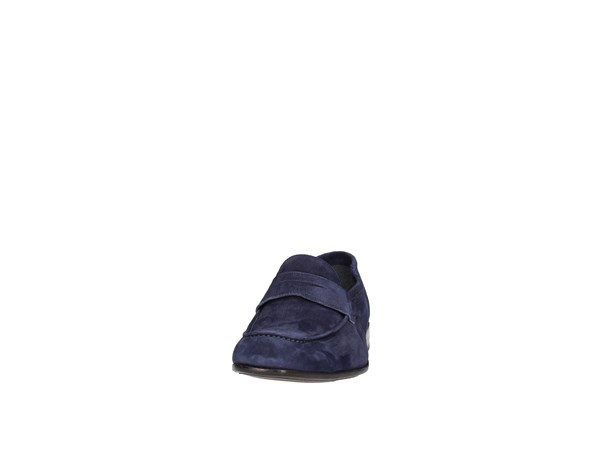 Alexander 6122 Blue Shoes Man Moccasin