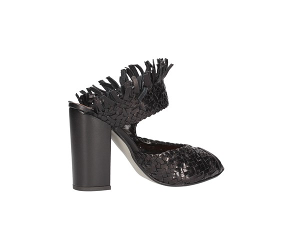 Silvia Rossini America Black Shoes Women ousted