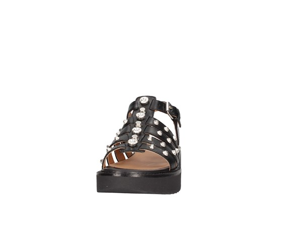 Janet Sport 43906 Black Shoes Women Sandal