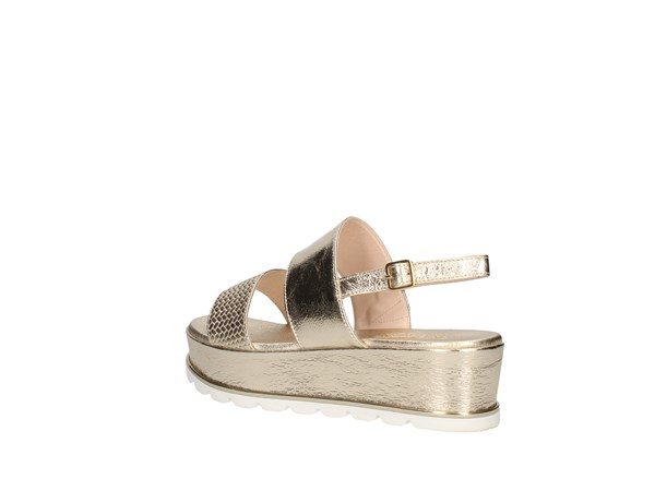Martina B 19-684-ga-ct Platinum Shoes Women Sandal