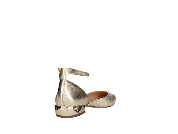 Silvia Rossini Marte Platinum Shoes Women Ballerina