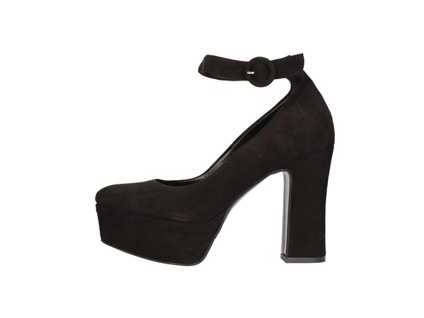 Albano 1120 Black Shoes Women Heels'