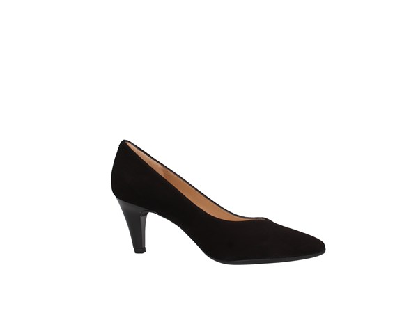 Unisa Keala Black Shoes Women Heels'