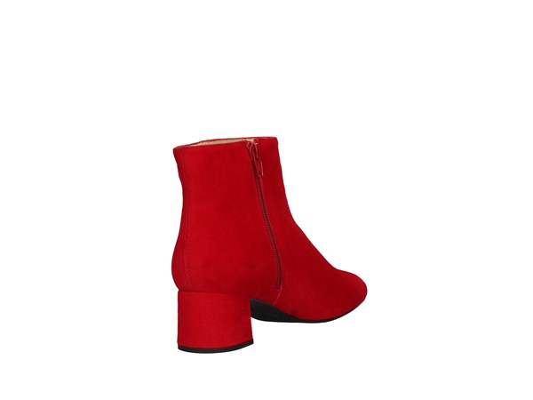 Unisa Levi Red Shoes Women Tronchetto
