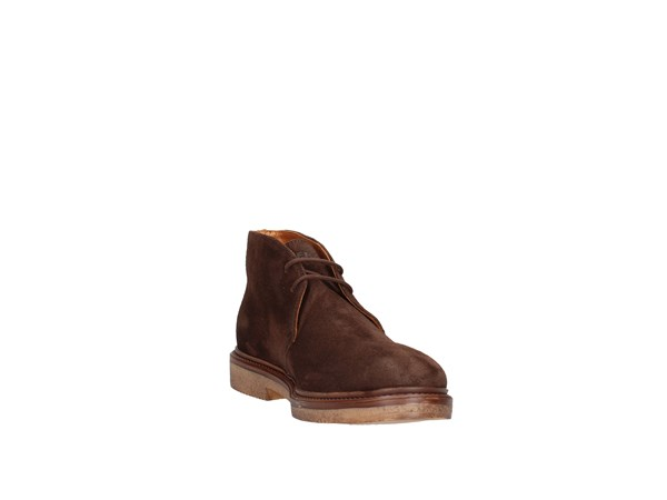 Frau 7602 Dark Brown Shoes Man ankle