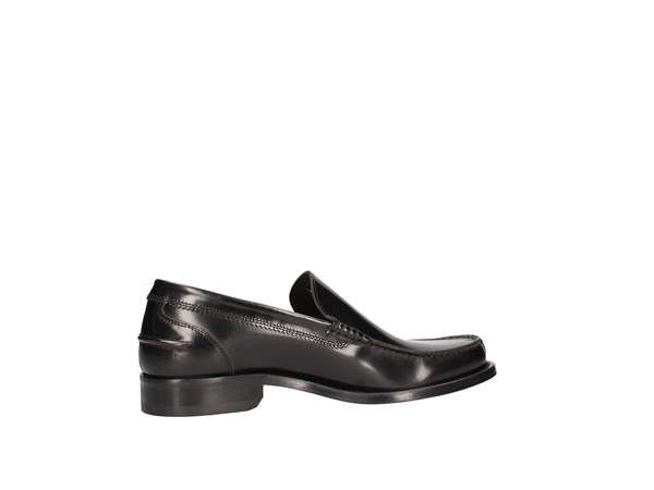 Soldini 20775-g-g04 Black Shoes Man Moccasin