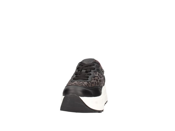 Janet Sport 44735 Black / camouflage Shoes Women Sneakers