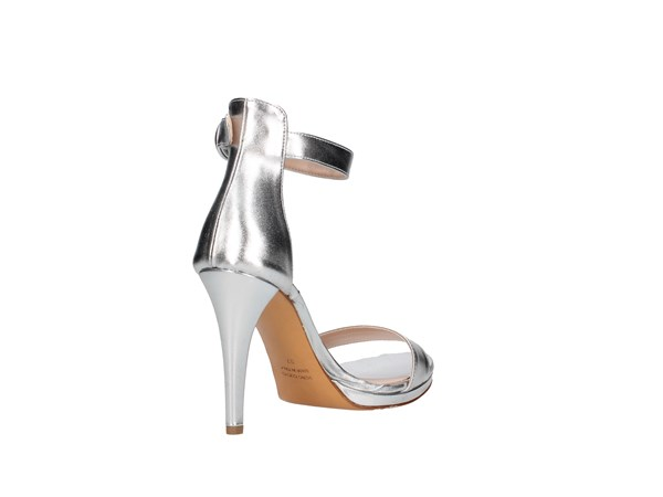 L'amour By Albano 200 Silver Shoes Women Sandal