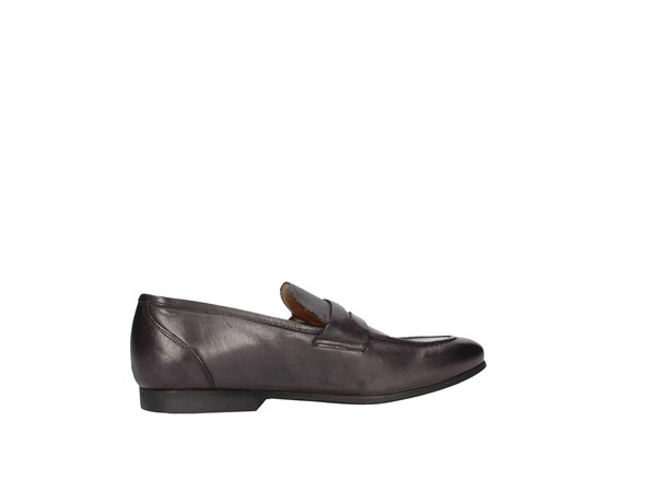 J.b.willis Car01 Black Shoes Man Moccasin