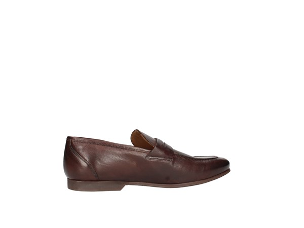 J.b.willis Car01 Dark Brown Shoes Man Moccasin