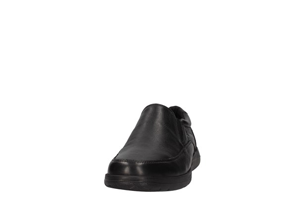 Valleverde V66841 Black Shoes Man Moccasin
