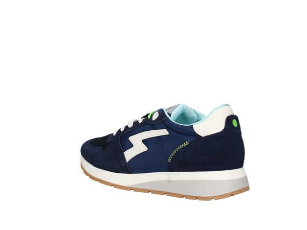 Run2me 7102pp240 Blue Shoes Man Sneakers