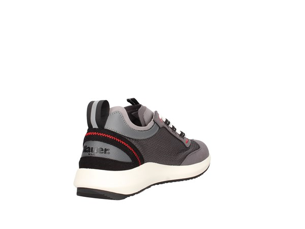 Blauer. U.s.a. S0byron02/mes Grey Shoes Man Sneakers