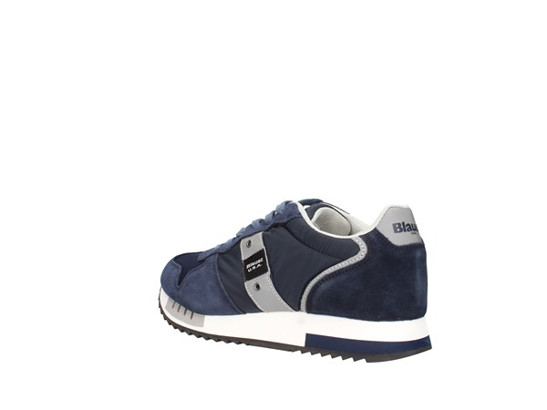 Blauer. U.s.a. S0queens01/mes Blue Shoes Man Sneakers