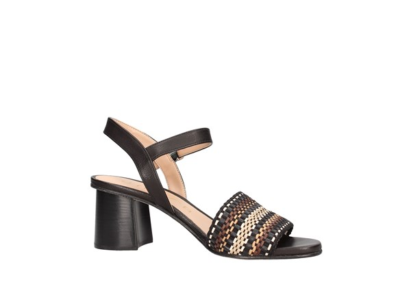 Unisa Molla Black / multicolor Shoes Women Sandal
