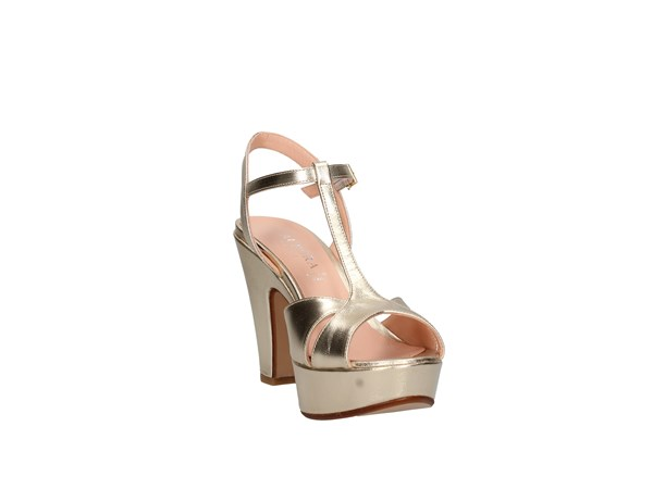 Aurora Paris 1117 Platinum Shoes Women Sandal