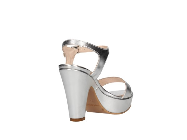 Martina B 19-461/p12-c8 Silver Shoes Women Sandal