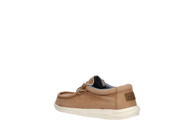 Dude Wally Washed Tobacco Shoes Man Sneakers