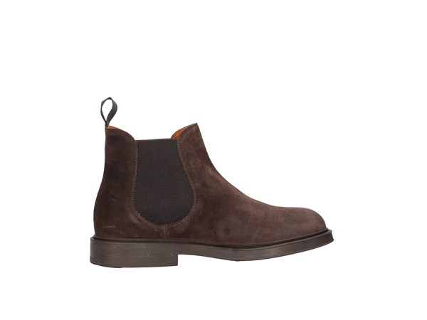 Frau 73a3 Dark Brown Shoes Man Boots