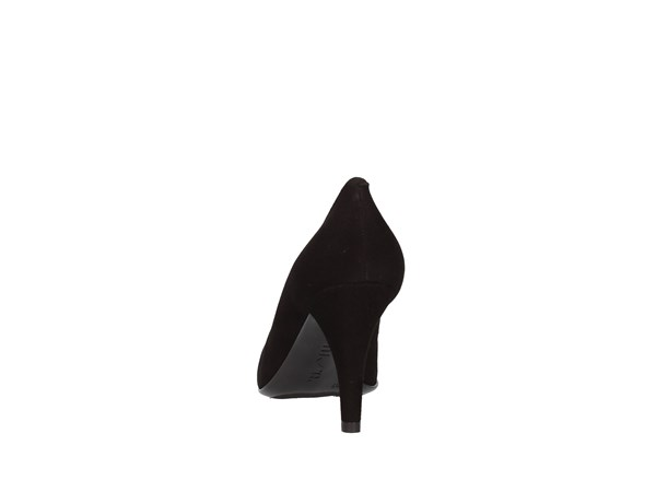 Unisa Tola Black Shoes Women Heels'