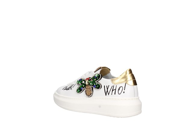 Gio+ G406a White Shoes Women Sneakers