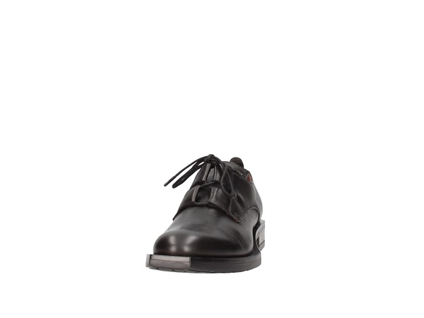 Le Bohémien K82-2 Black Shoes Women Francesina