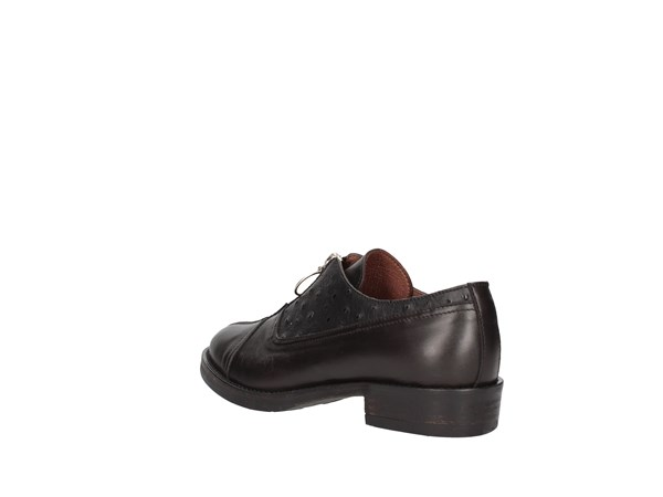 Le Bohémien K01-1 Black Shoes Women Francesina
