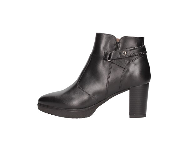 Nero Giardini I013005d Black Shoes Women Tronchetto