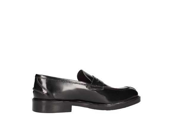 Arcuri 8514-6 Black Shoes Man Moccasin