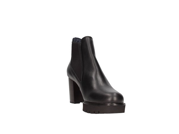 Callaghan 21927 Black Shoes Women Tronchetto