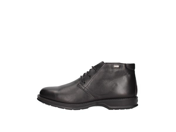 Igi&co 6113600 Black Shoes Man ankle