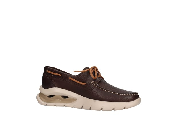 Callaghan 47500 Dark Brown Shoes Man Sneakers